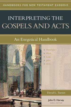 cover image of the book Interpreting the Gospels and Acts